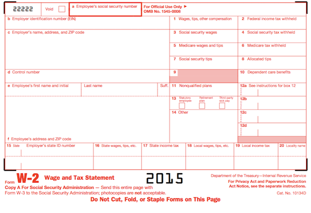 Completing Form W 2 U0026 Box 12 Codes